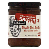Salpica Black Bean Chipotle Medium Dip, 16 OZ (Pack of 6)