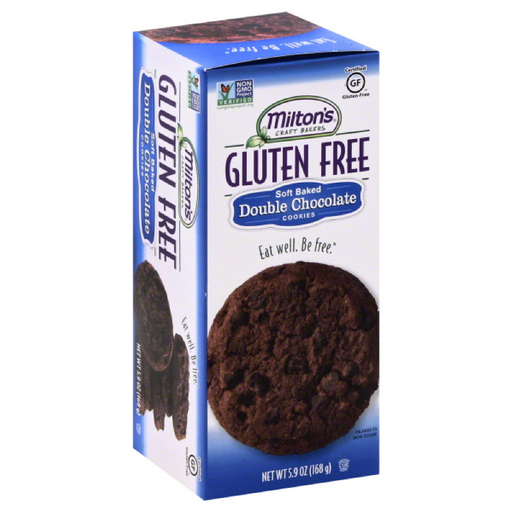 Miltons Double Chocolate Soft Baked Cookies, 5.9 Oz (Pack of 8)