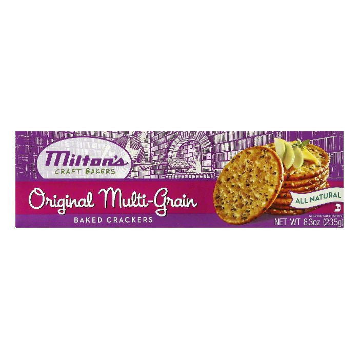 Milton's Original Multi-Grain Crackers, 8.3 OZ (Pack of 12)