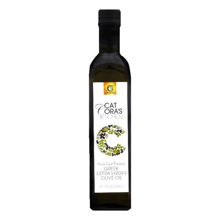 Cat Coras Kitchen Oil Olive Xvrgn, 17 OZ (Pack of 6)