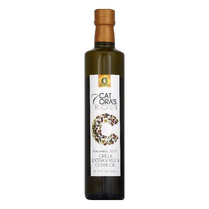 Cat Coras Kitchen Oil Olive Xvrgn Pdo Kalamata, 17 OZ (Pack of 6)