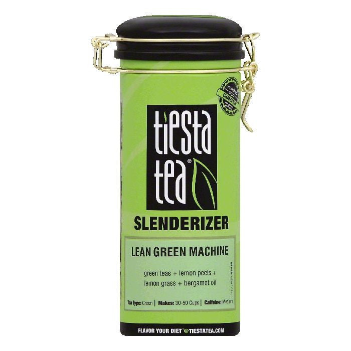 Tiesta Tea Lean Green Machine Green Tea, 4 OZ (Pack of 6)