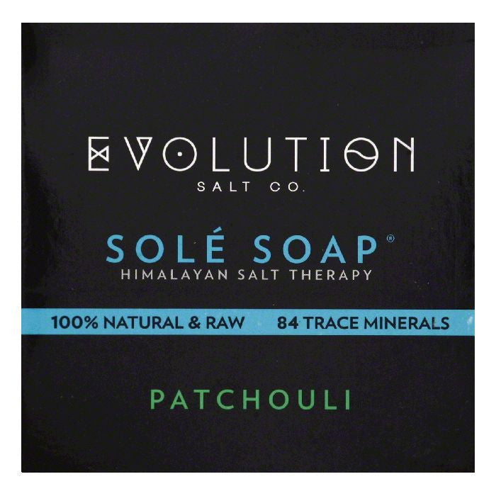 Evolution Salt Patchouli Sole Soap, 4.5 OZ