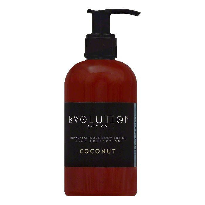 Evolution Salt Coconut Himalayan Sole Body Lotion, 8 OZ