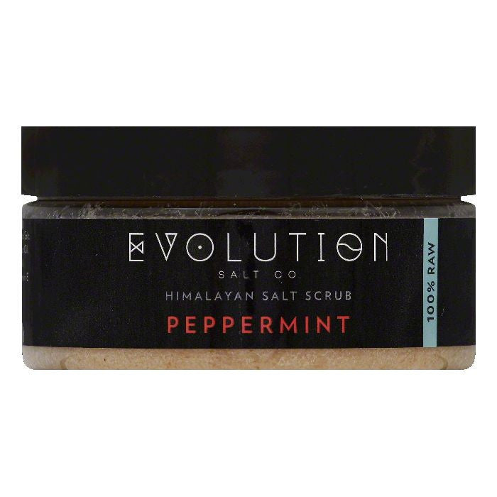 Evolution Salt Peppermint Himalayan Salt Scrub, 12 OZ