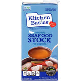 Kitchen Basics Original Seafood Cooking Stock 32 fl. Oz Aseptic Pack (Pack of 12)