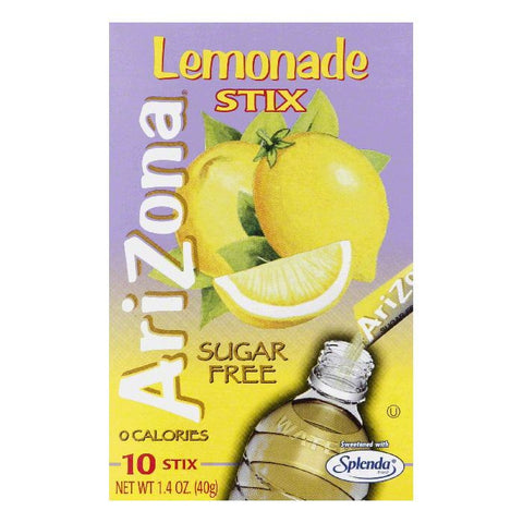 Arizona Tea Sugar Free Lemonade Stix, 1.4 OZ (Pack of 12)