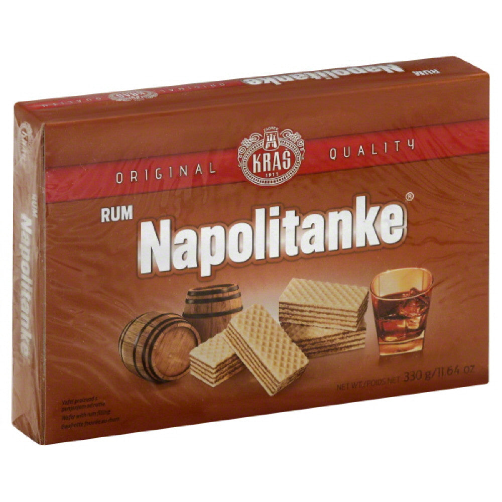 Kras Rum Napolitanke, 11.64 Oz (Pack of 12)