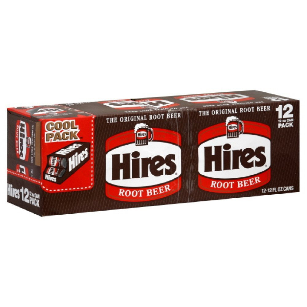 Hire's Root Beer, 12 Oz  (Pack of 2)
