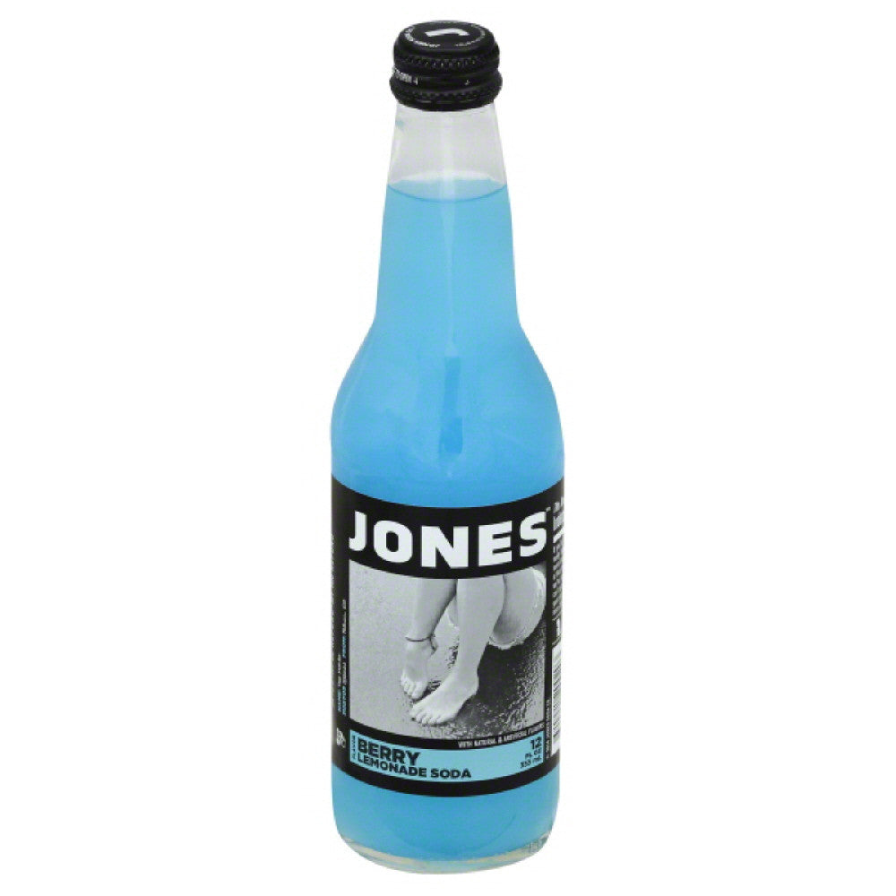 Jones Berry Lemonade Flavor Soda, 12 Fo (Pack of 12)