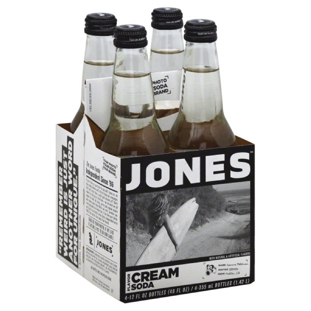 Jones Cream Soda, 48 Fo (Pack of 6)