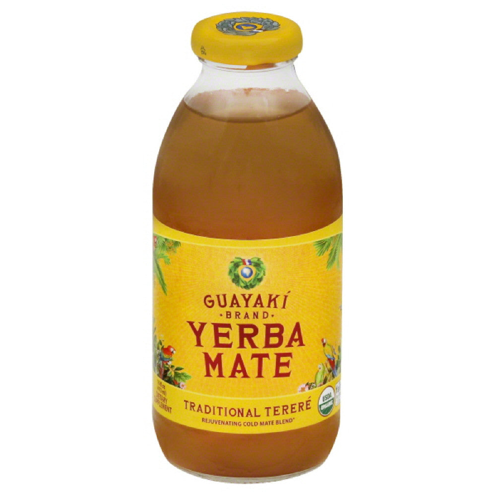 Guayaki Traditional Terere Yerba Mate, 16 Fo (Pack of 12)