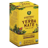 Guayaki Traditional Yerba Mate Bags, 25 Bg (Pack of 6)