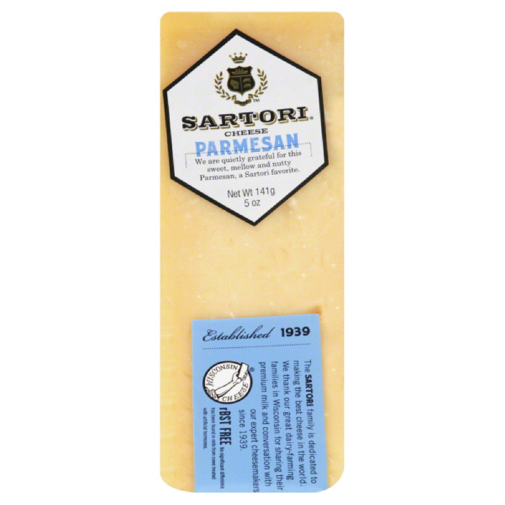 Sartori Parmesan Cheese, 5 Oz (Pack of 12)