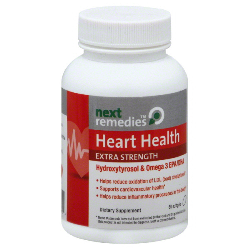 Next Remedies Extra Strength Heart Health Softgels, 30 Cp