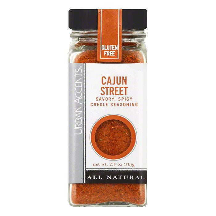 Urban Accents Cajun Street Seasoning, 2.5 OZ (Pack of 4)