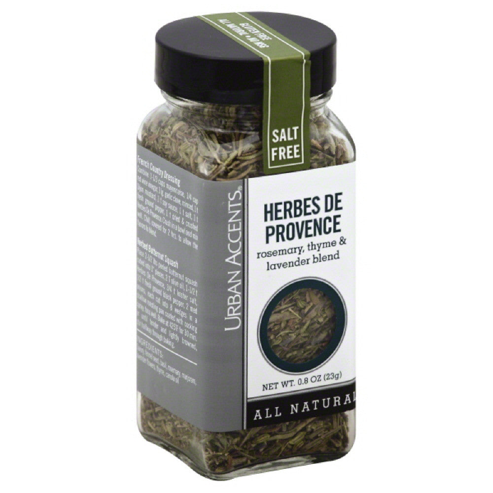 Urban Accents Salt Free Herbs De Provence, 1.2 Oz (Pack of 4)