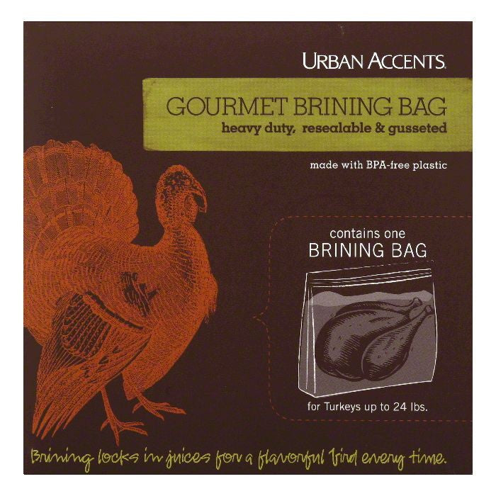 Urban Accents Ssnng brine bag, 3.2 OZ (Pack of 6)