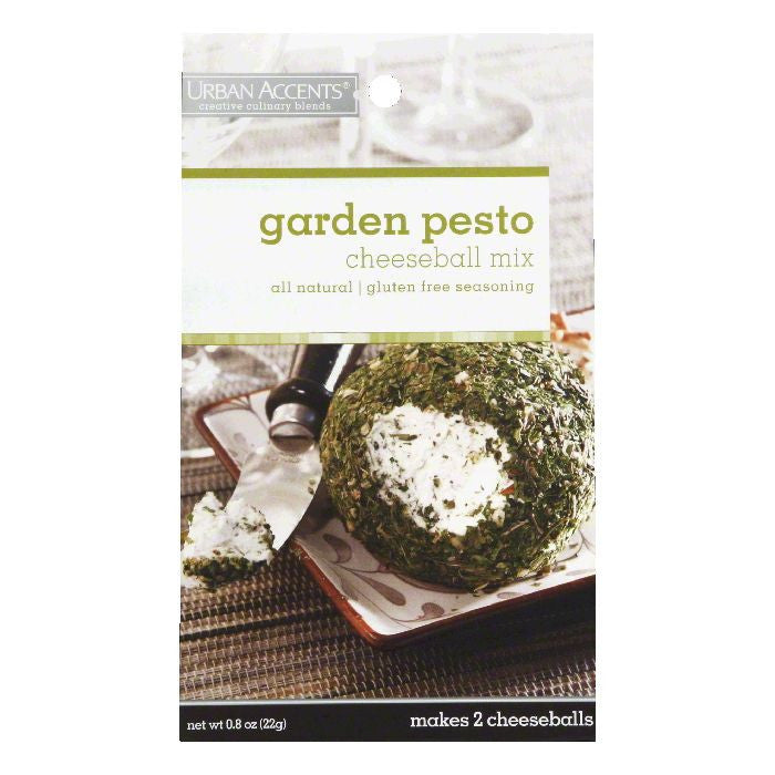 Urban Accents Garden Pesto Cheeseball Mix, 0.8 OZ (Pack of 6)