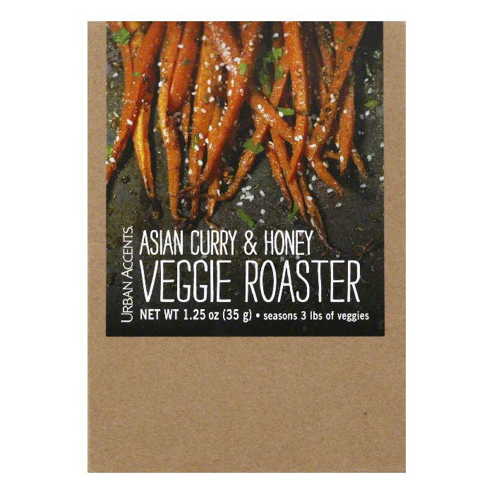 Urban Accents Asian Curry & Honey Veggie Roaster, 1.25 Oz (Pack of 6)