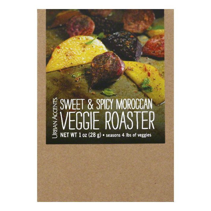 Urban Accents Sweet & Spicy Moroccan Veggie Roaster, 1 Oz (Pack of 6)