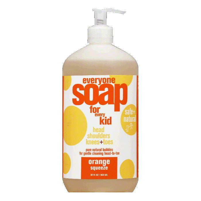 Everyone Orange Squeeze for Every Kid Soap, 32 Oz