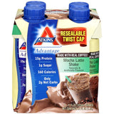 Atkins Advantage Mocha Latte Shakes 4-11 fl. Oz Aseptic Cartons (Pack of 6)