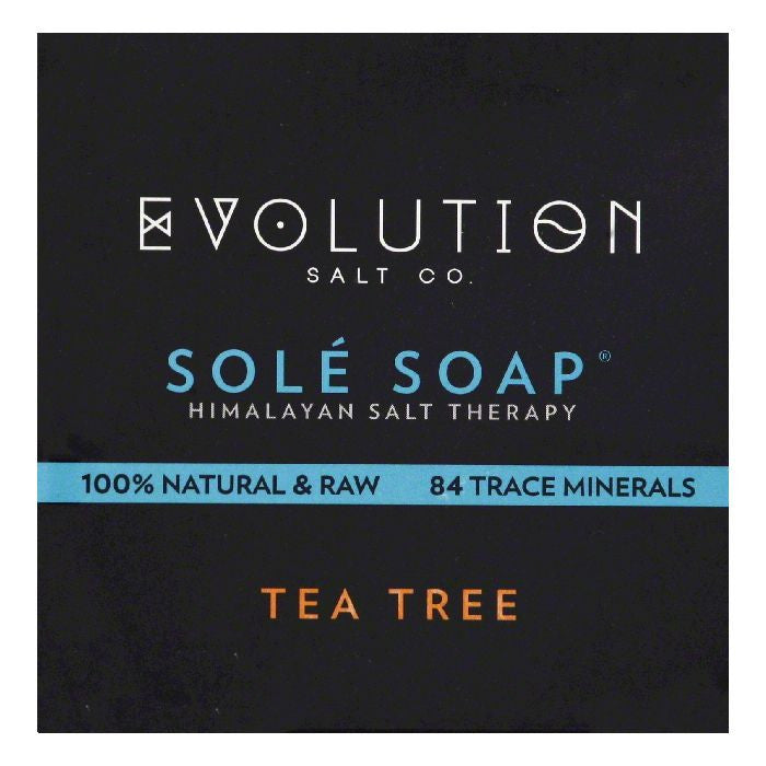 Evolution Salt Tea Tree Sole Soap, 4.5 OZ