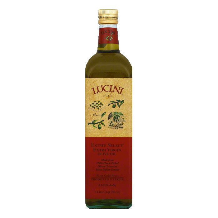 Lucini Extra Virgin Olive Oil, 33.79 OZ (Pack of 6)