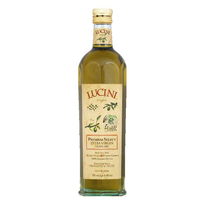 Lucini Olive Oil Extra Virgin Premium Select, 25.5 OZ (Pack of 6)
