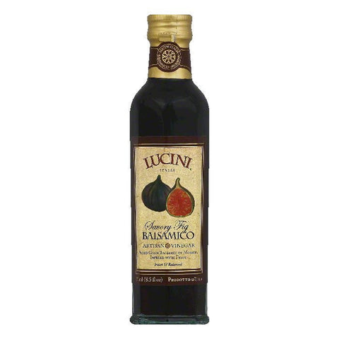 Lucini Balsamic with Figs Vinegar, 8.5 OZ (Pack of 6)