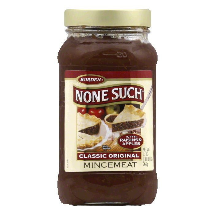 None Such Mincemeat, 27 OZ (Pack of 12)
