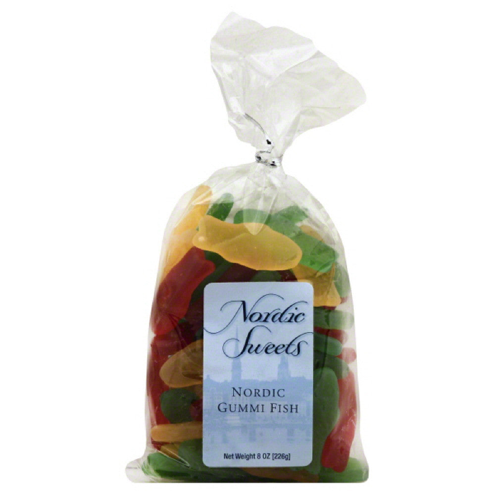Nordic Sweets Nordic Gummi Fish, 8 Oz (Pack of 10)