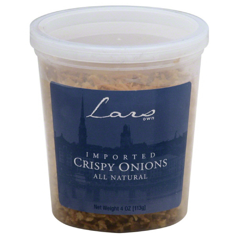 Lars Own Crispy Onions, 4 Oz (Pack of 12)