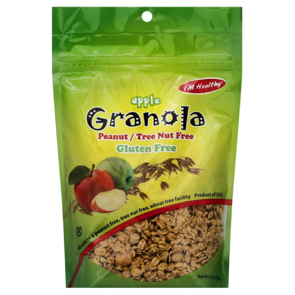 IM Healthy Apple Granola, 12 Oz (Pack of 6)