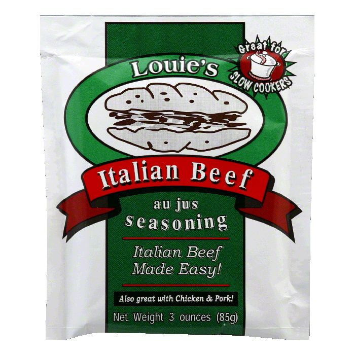 Louie's Italian Beef Seasoning, 3 OZ (Pack of 12)