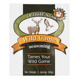 Louies Wild Game Seasoning, 3 Oz (Pack of 12)