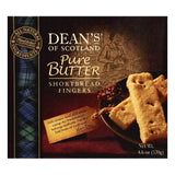 Deans Pure Butter Shortbread Fingers, 4.6 OZ (Pack of 10)