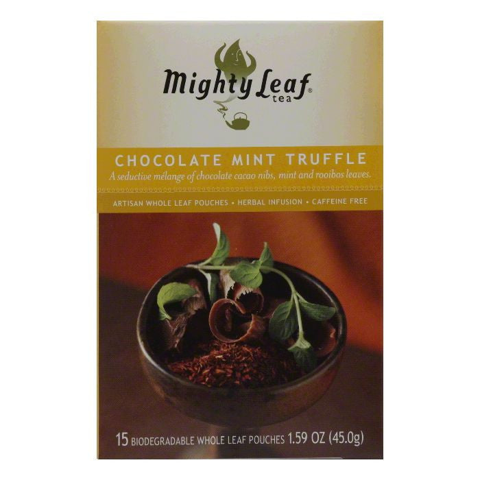 Mighty Leaf Tea Choc Mint Trffl, 1.32 OZ (Pack of 6)