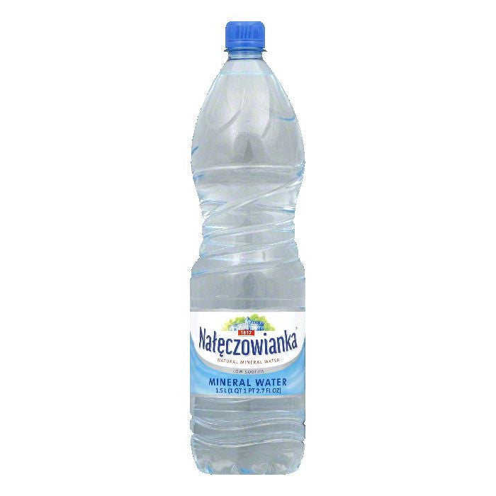 Naleczowianka Mineral Water Non Carbonated, 50.71 OZ (Pack of 6)