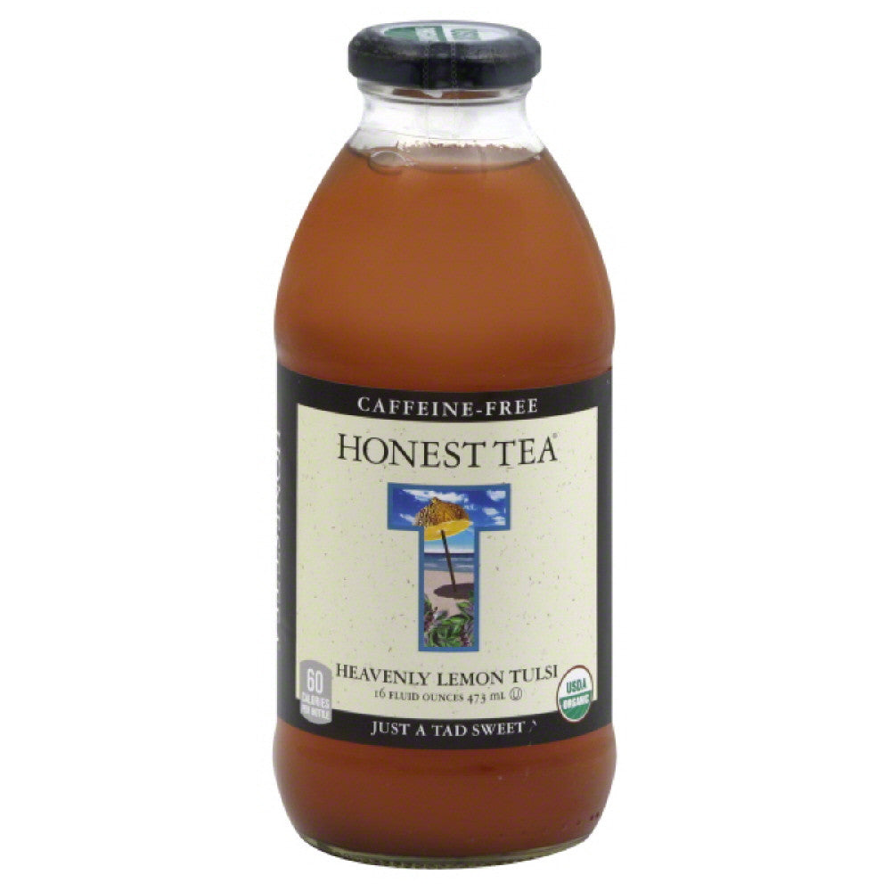 Honest Tea Heavenly Lemon Tulsi Tea, 16 Fo (Pack of 12)