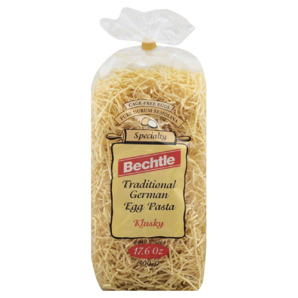 Bechtle Family Size Klusky Traditional German Egg Pasta, 17.6 Oz (Pack of 12)