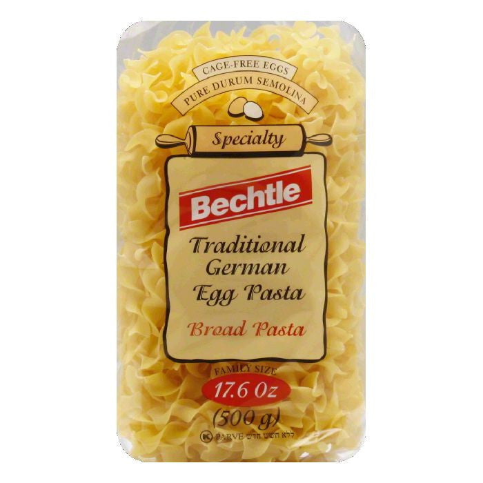 Bechtle Noodles Broad, 17.6 OZ (Pack of 12)