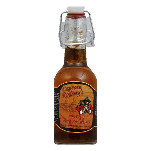 Captain Rodney's Private Reserve Mango Pepper Glaze, 9 OZ (Pack of 6)