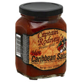Captain Rodneys Hot Caribbean Salsa, 13 Oz (Pack of 6)