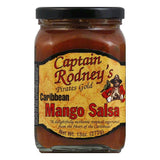Captain Rodney's Private Reserve Caribbean Salsa Mango, 13 OZ (Pack of 6)