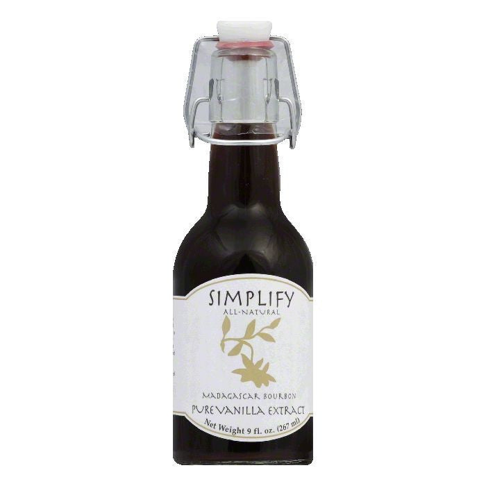 Simplify Vanilla Extract, 9 OZ (Pack of 6)