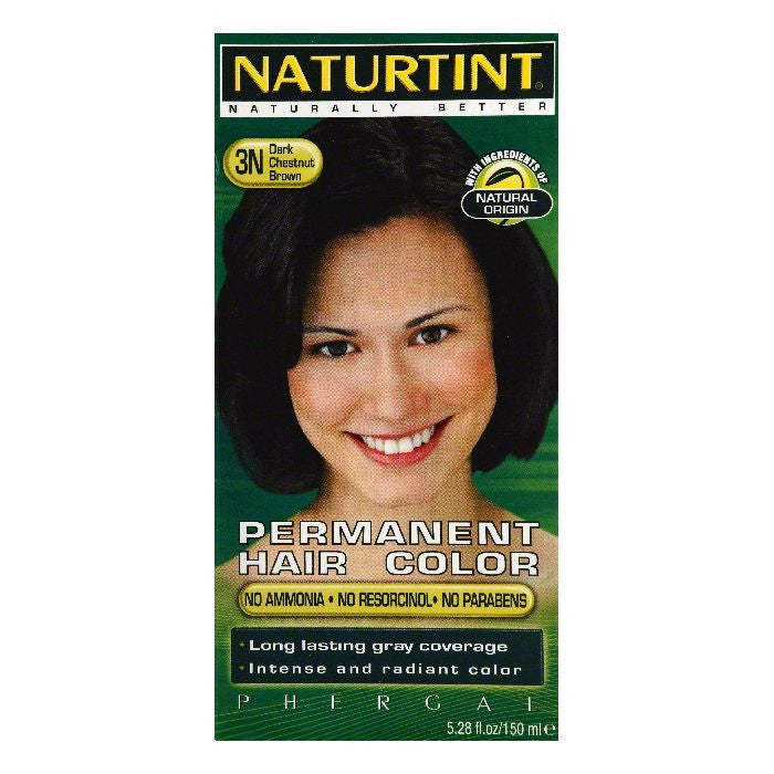Naturtint Dark Chestnut Brown 3N Permanent Hair Color, 5.28 OZ
