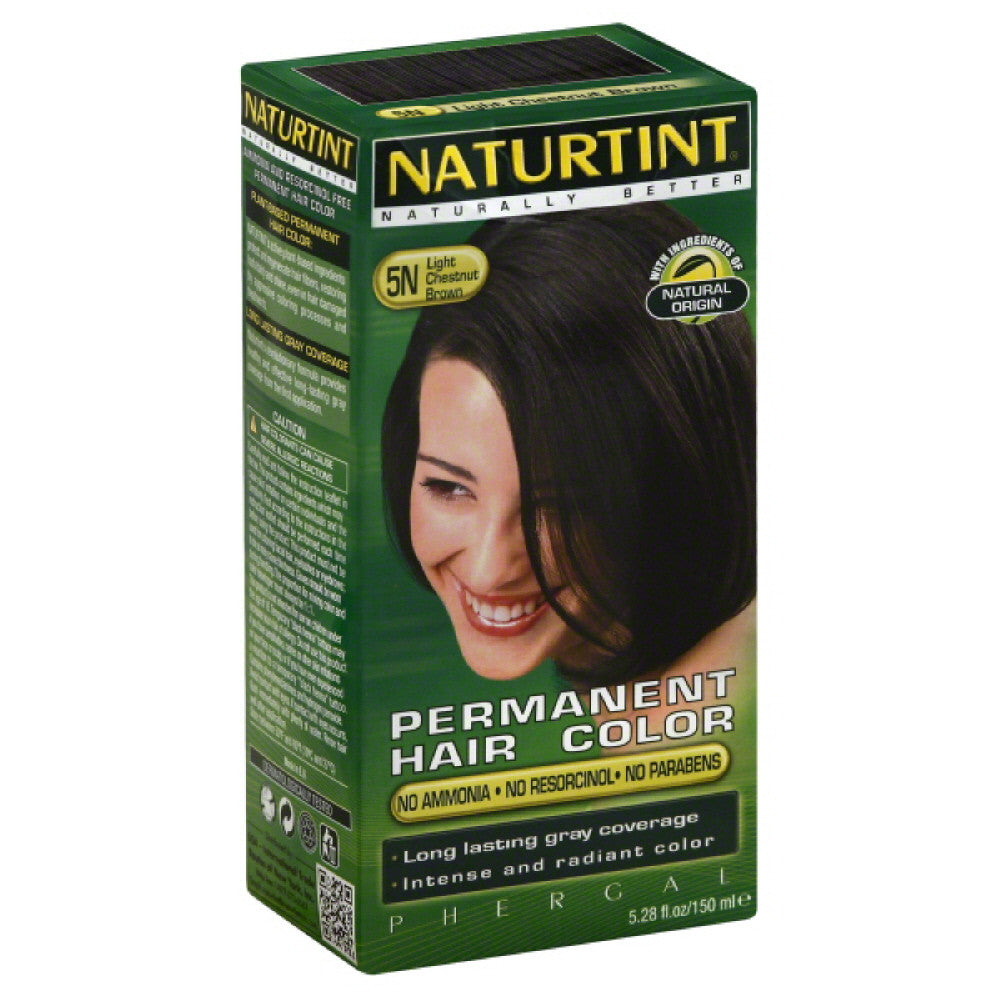 Naturtint Light Chestnut Brown 5N Permanent Hair Color, 5.28 Fo