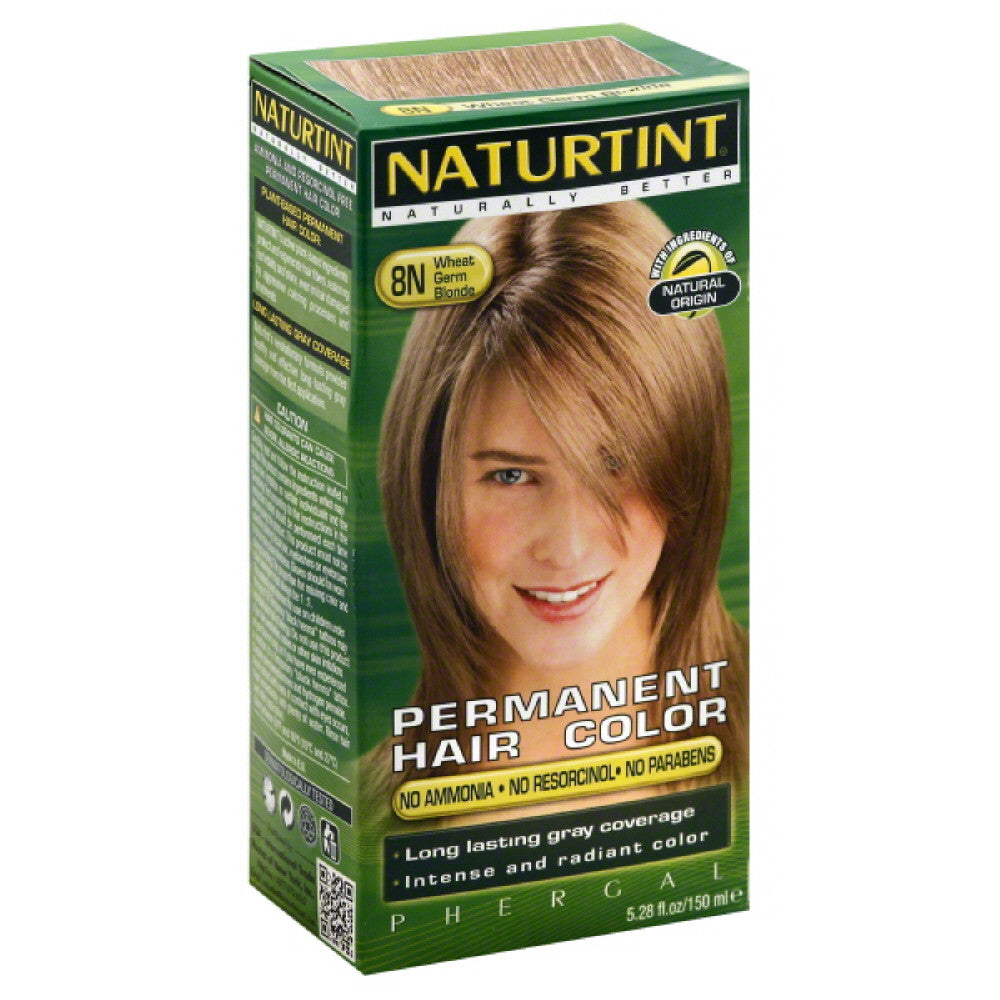 Naturtint Wheat Germ Blonde 8N Permanent Hair Color, 5.28 Fo